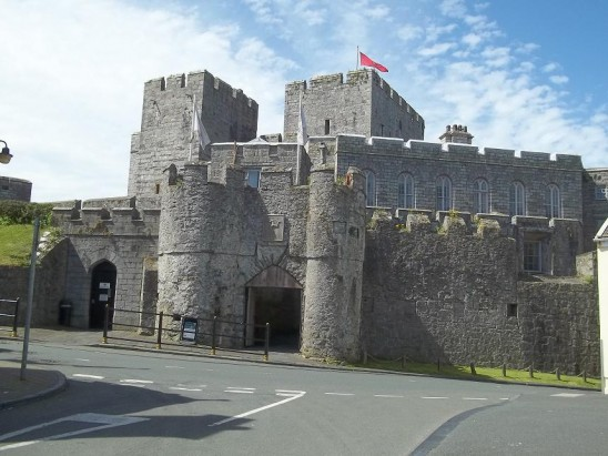 Castle Rushen on The Isle of Man