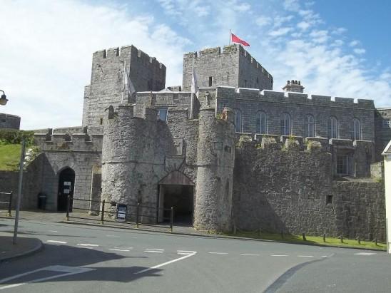 Castle Rushen on The Isle of Man