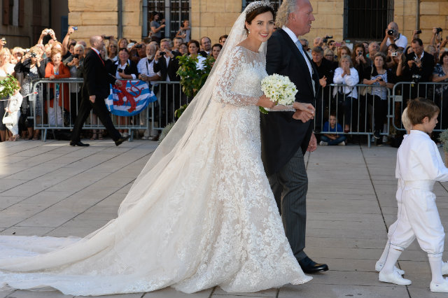 Claire Lademacher wedding dress