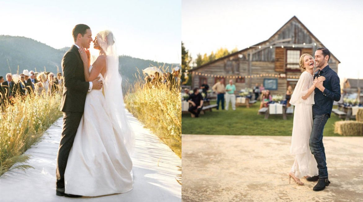 7 Best Celebrity Designer Wedding Dresses from the past 2 years