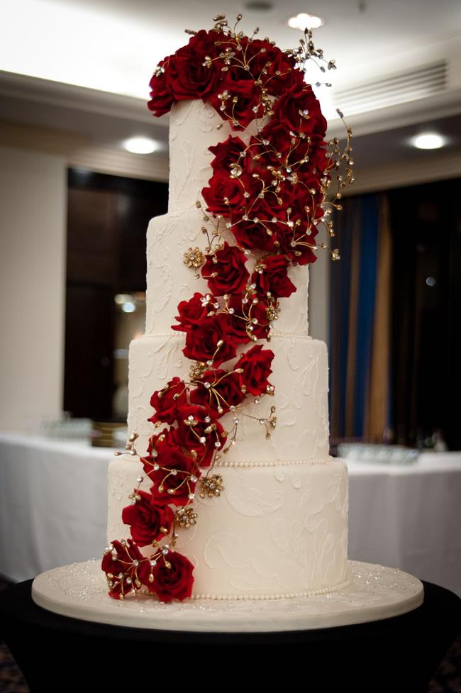 Opulent Wedding Cake