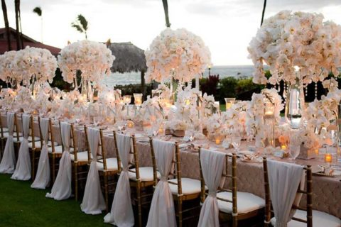 wonderful wedding setting
