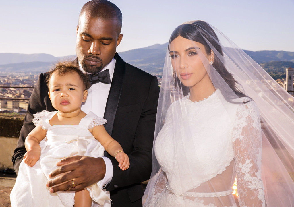 Kim K and Kanye