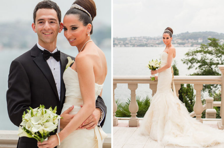 Turkish Bride and Groom
