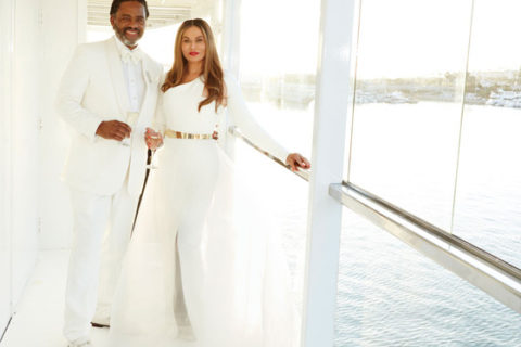 Tina Knowles gets Married