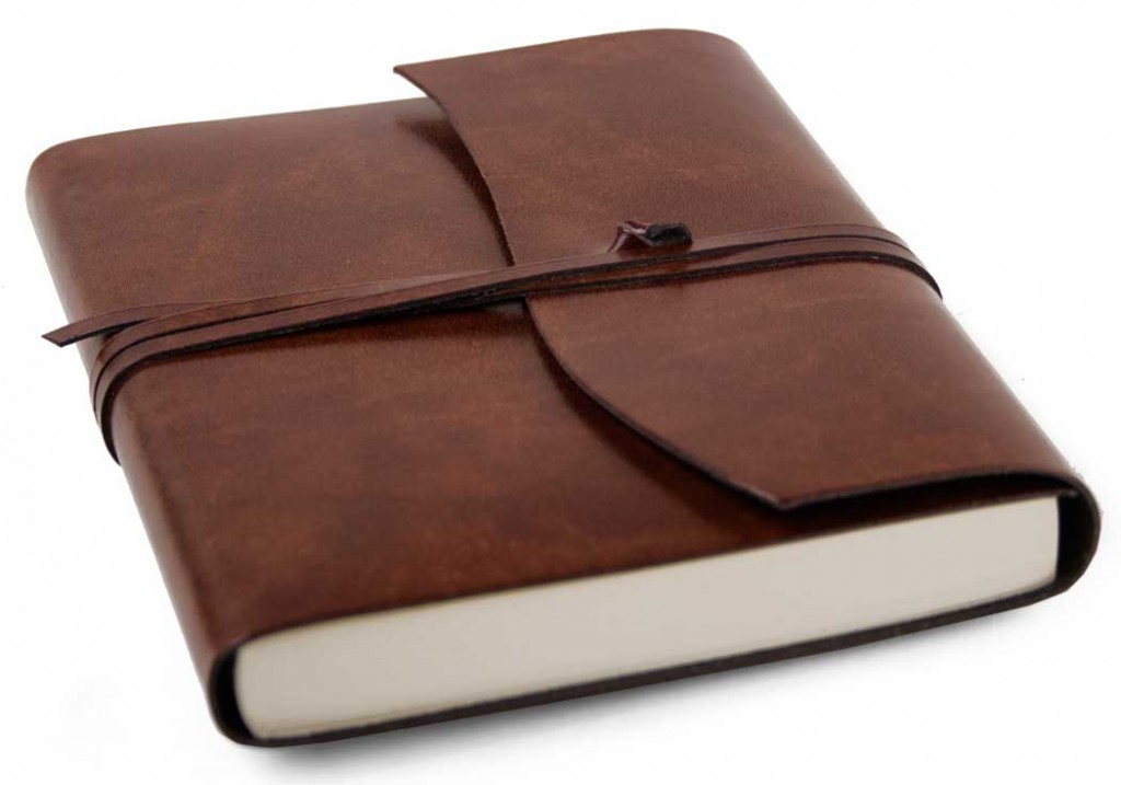 leather journal wedding favours
