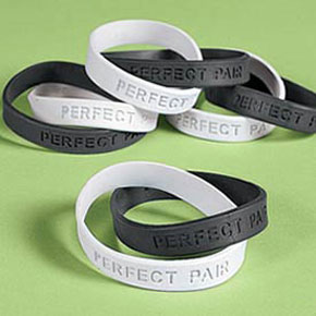 perfect pair Josh and fergie wedding favours