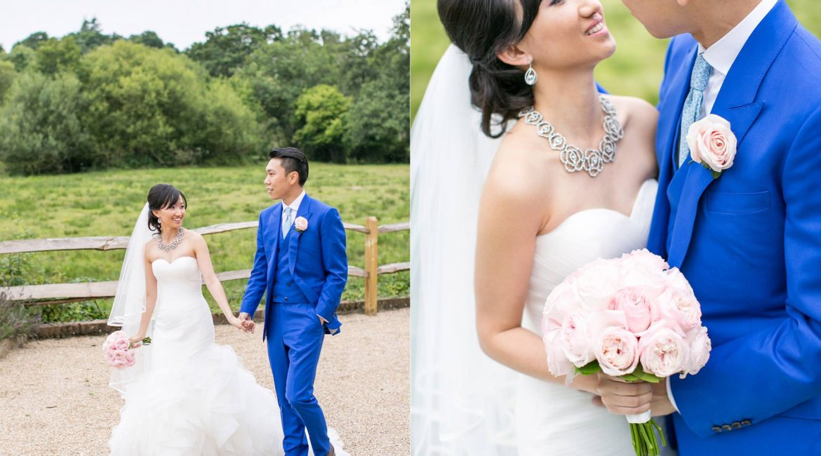 Emily and Eddie Weds at Millbridge Court in Surrey