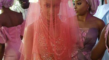 Banky W, and Adesua Etomi's Traditional Wedding in Nigeria
