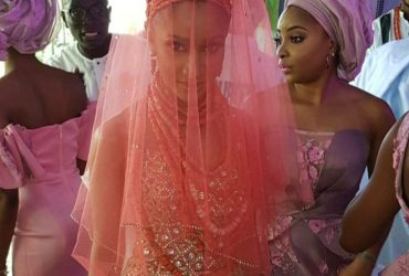Banky W, and Adesua Etomi's Traditional Wedding in Nigeria