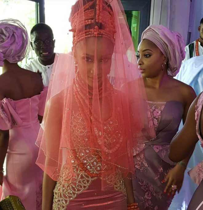 Banky W, Adesua Etomi's Traditional Wedding