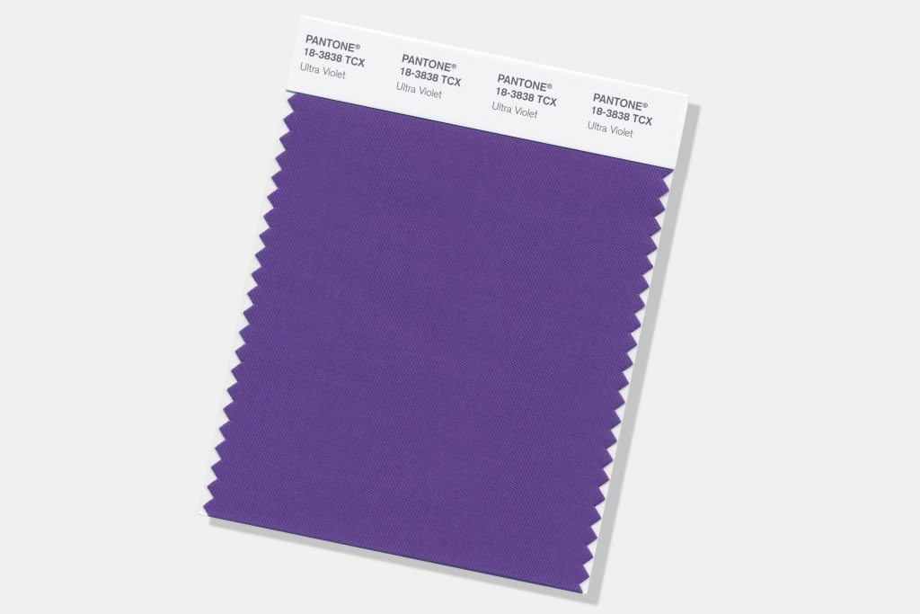 Pantone colour of 2018