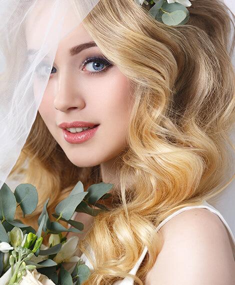 brides face