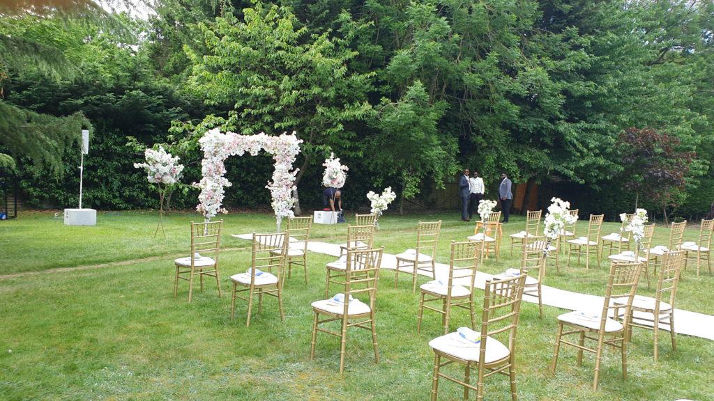 Social Distancing Weddings